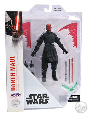 Diamond Select Disney Store Exclusive Star Wars Action Figures Darth Maul