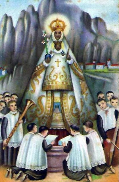 Virgen de Montserrat (Barcelona).