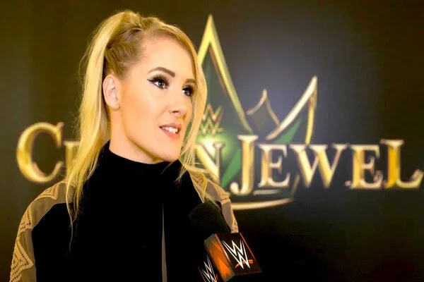 لايسي ايفانز تتحدث عن رأيها في تسريح بعض نجوم WWE مؤخرا