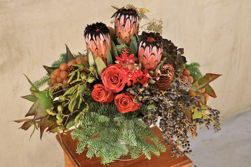 Baroque Holiday Floral Design