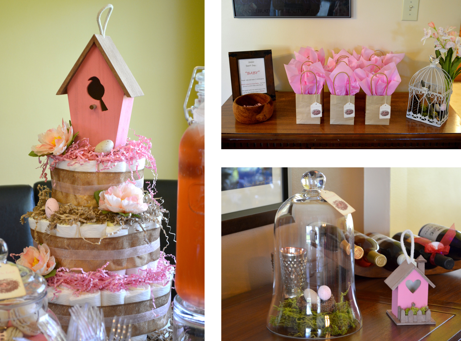 cozy birdhouse | about to hatch... my baby shower!