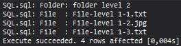MS SQL Server - sys.xp_dirtree