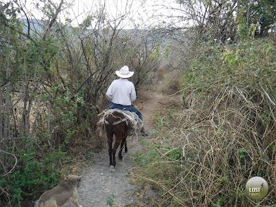 El abuelo, el burro y el perro. Cerro Viejo