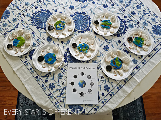 Phases of the Moon Project for Kids: The Final Product