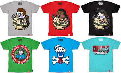 Ghostbusters T-Shirt Collection by Johnny Cupcakes