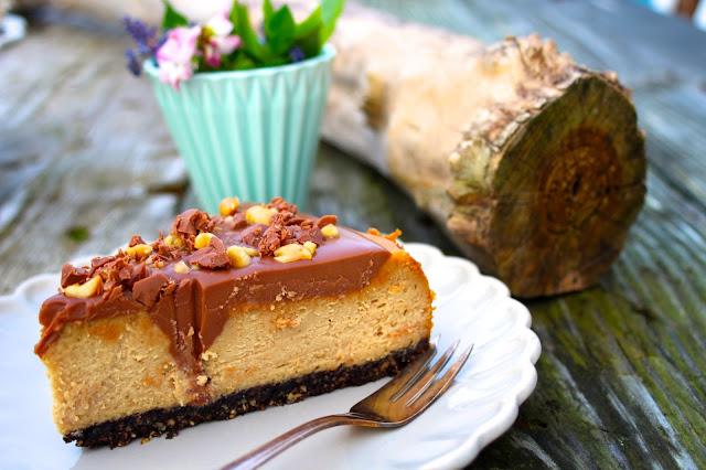 Erdnussbutter-Cheesecake