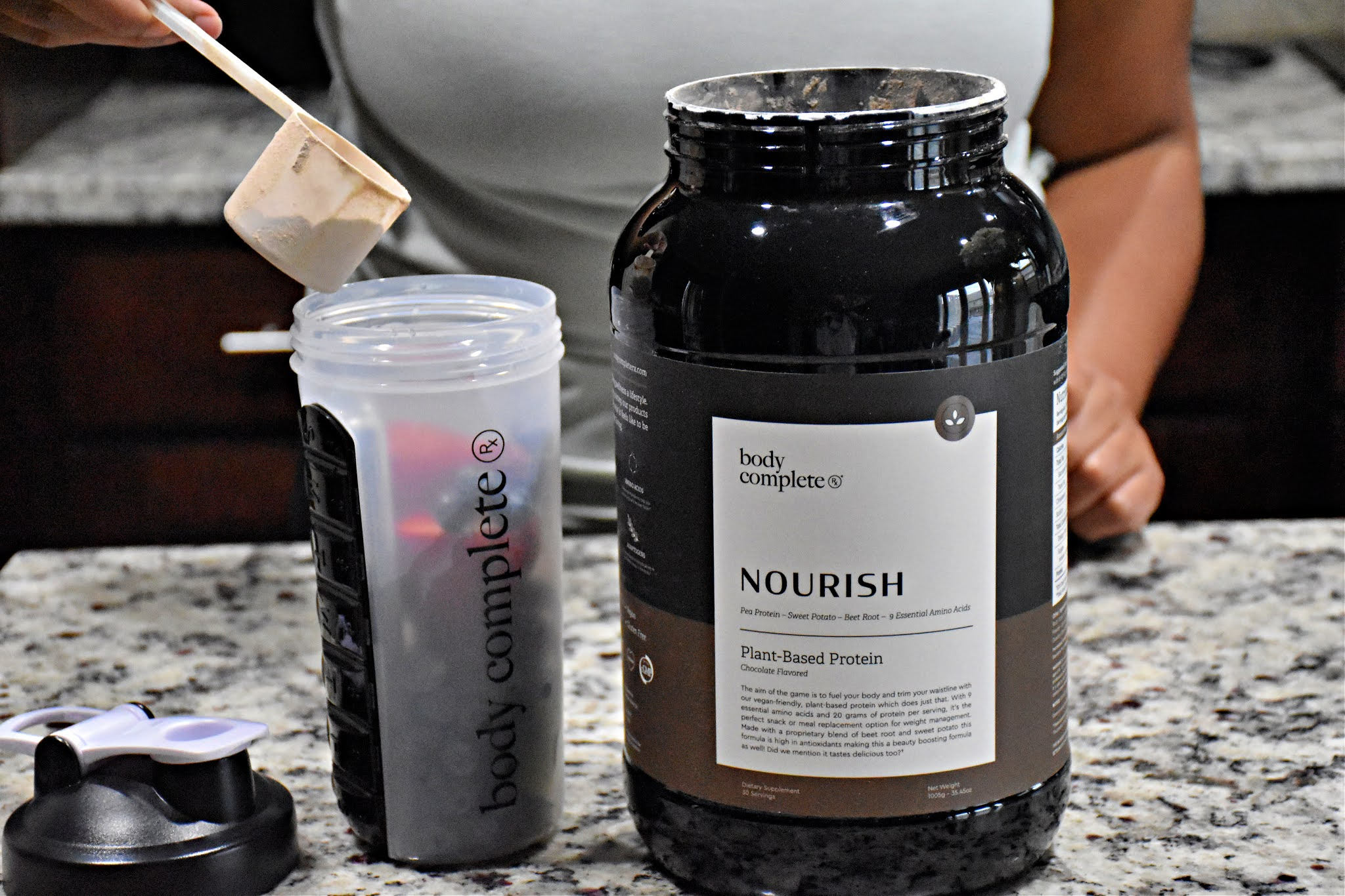 Trim Your Waistline Naturally by using Body Complete RX Nourish Plant-Based Protein