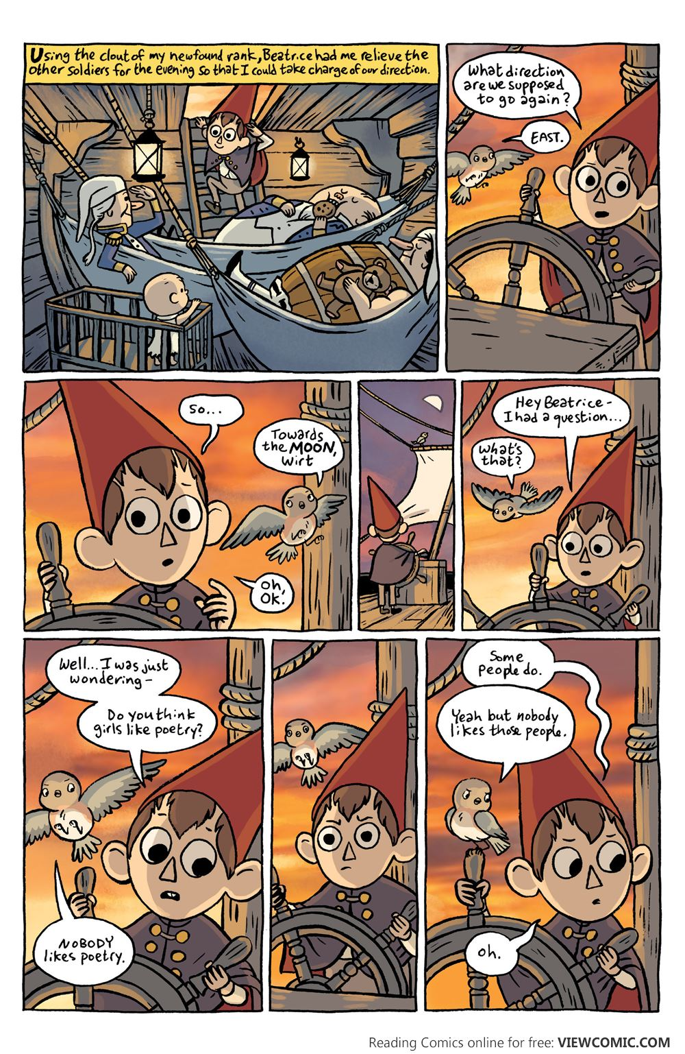 Over The Garden Wall Special 001 Viewcomic Reading Comics