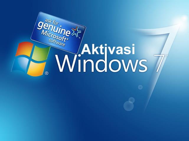 Aktivasi Windows 7