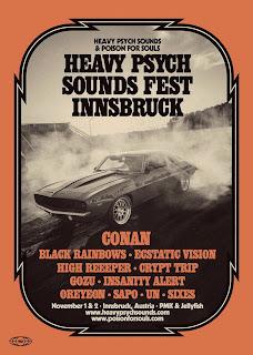 Heavy Psych Sounds Fest Innsbruck 2019
