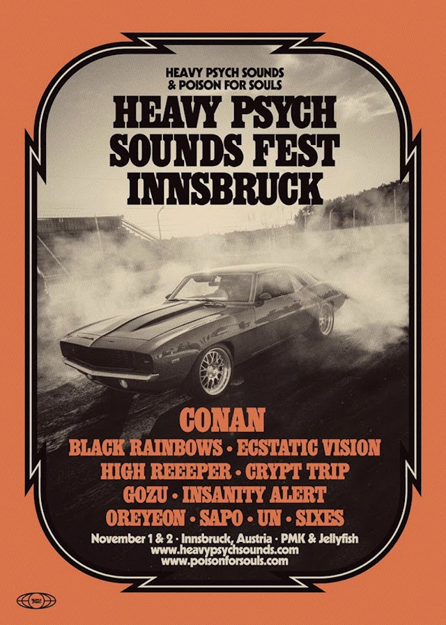 [News] Heavy Psych Sounds Fest Innsbruck-Nov.'19