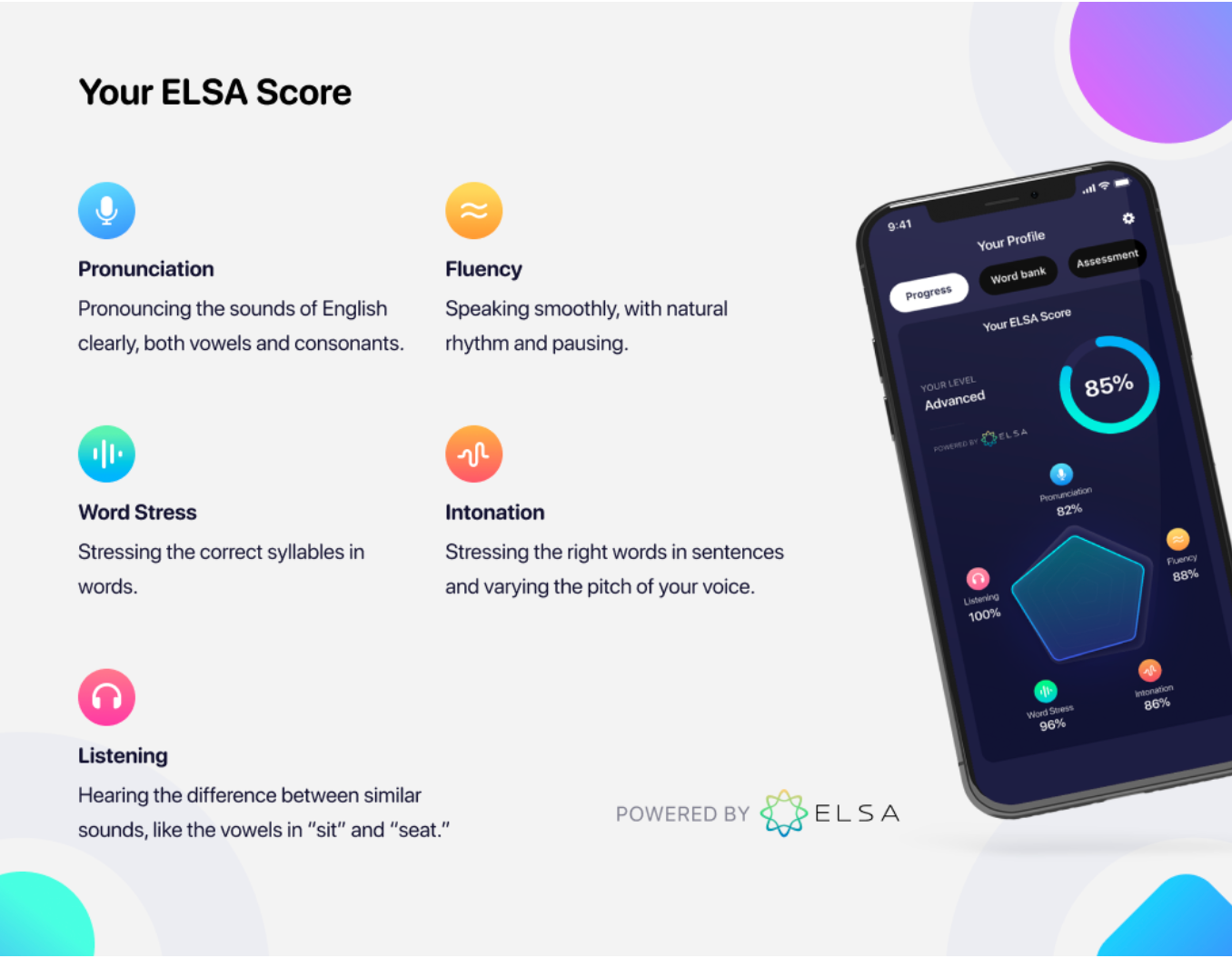 Discover Your ELSA Score — an AI-Powered Visualization of Your English Speaking Proficiency in real time