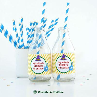 detetives predio azul adesivo rotulo personalizado decoracao festa