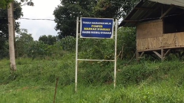 Markaz Syariah Disomasi PTPN, FPI Klaim HRS Beli Lahan dari Petani