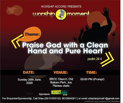 Worship Accord June 2020 Worship Moment Invitation