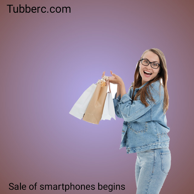 The Sale of Smartphones in the world | Tubberc