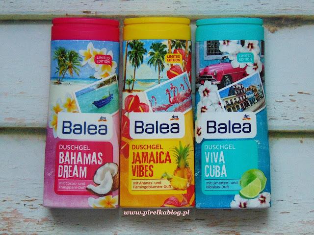 Bahama, Jamaica, Cuba - poczuj się jak na wakacjach z limitowanymi żelami Balea