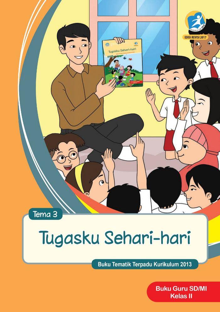 Buku Guru Tematik SD Kelas II Tema 3 Tugasku Sehari-hari