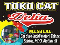 Download Contoh Spanduk Toko Cat Rumah dan Bangunan Format CDR
