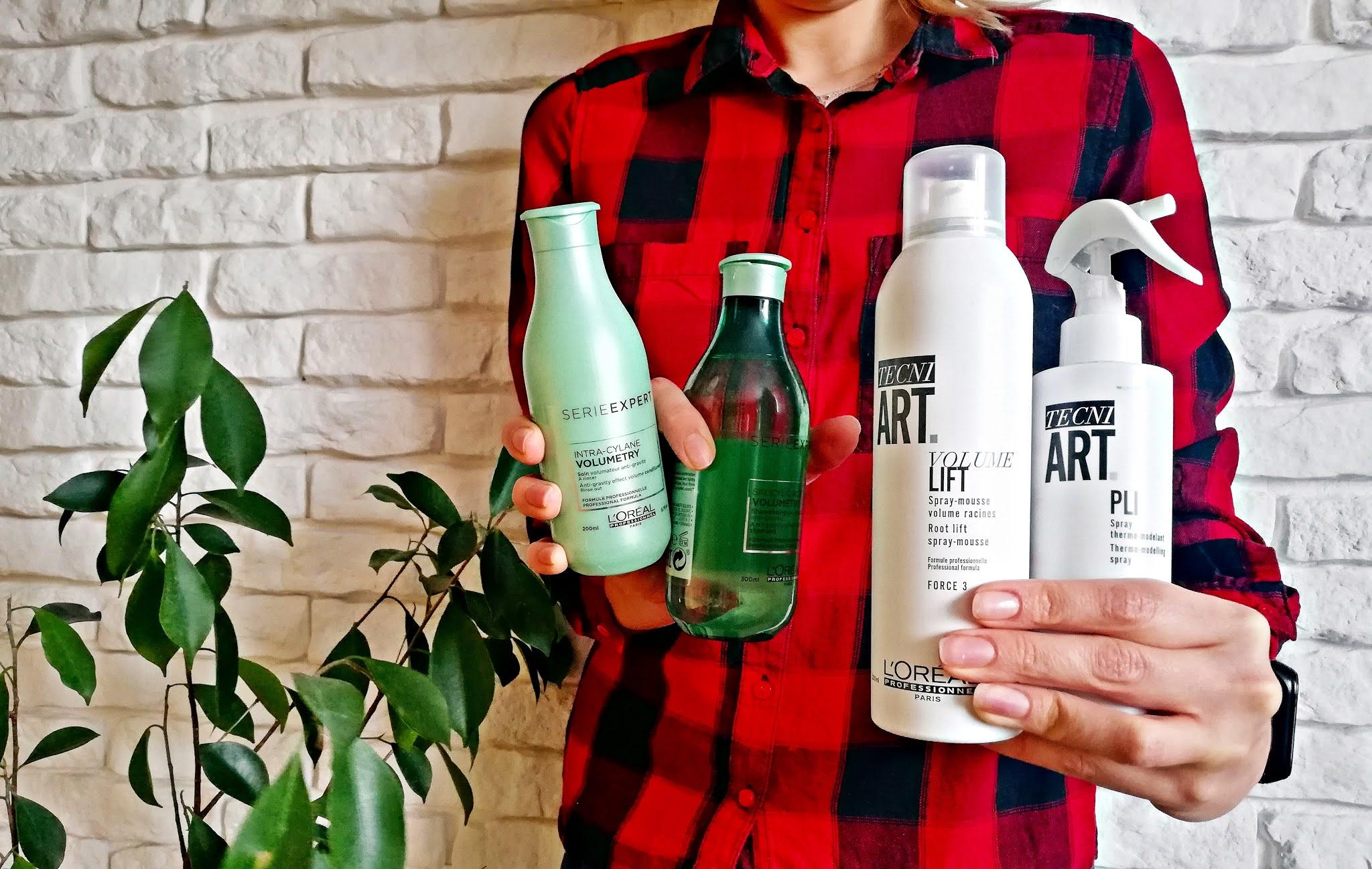 L´Oreal Professionnel, Série Expert, Volumetry: szampon, odżywka, pianka i spray
