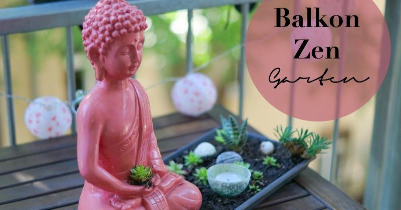 Interieur Zen Garten Fur Den Balkon The Nina Edition The Nina