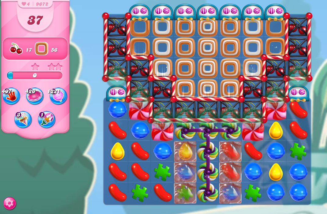 Candy Crush Saga level 9672