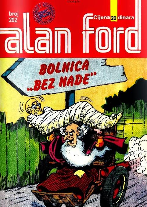 Bolnica bez nade - Alan Ford