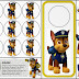 Paw Patrol: Chase Free Printable Mini Kit.