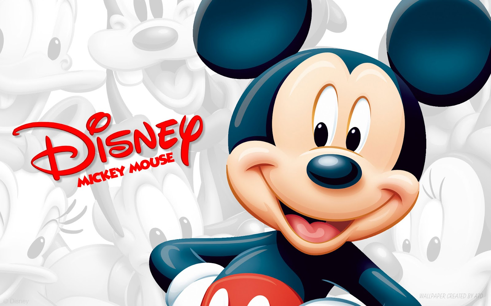 Walt Disney World Disney Mickey Mouse Characters Desktop