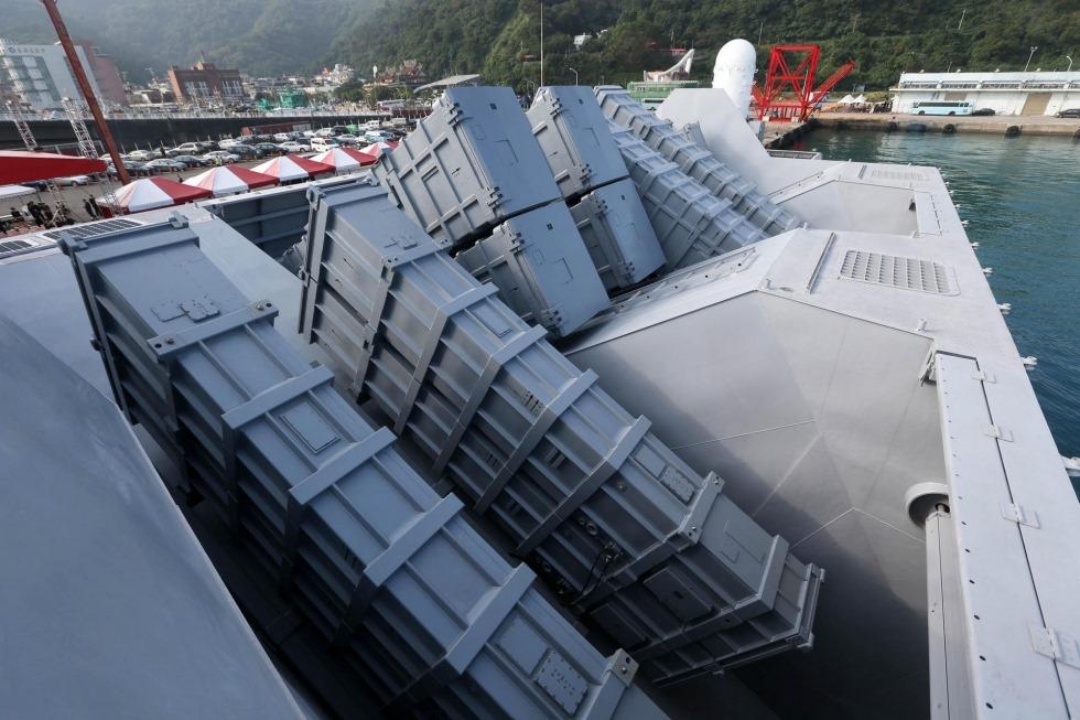 Озброєний до неможливого: у тайванський корвет втисли аж 16 протикорабельних ракет