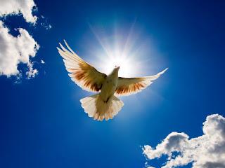 Oração de repouso do Espírito Santo.