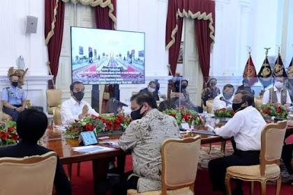 Presiden Ingatkan Gubernur, Bupati, dan Wali Kota Agar Bekerja Keras Tangani Pandemi Covid-19