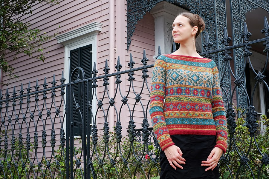Anatolia by Marie Wallin (Rowan Magazine), knit by Dayana Knits in Rowan Felted Tweed