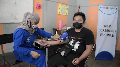 Vaksinasi Disabilitas Jabar Tembus 101 Persen