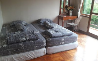 twin bed bagus