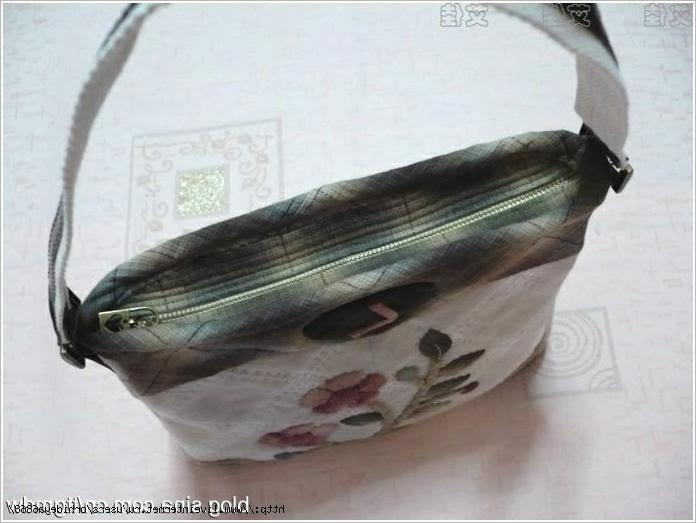Сумка пэчворк  чехлом для телефона. Patchwork bag