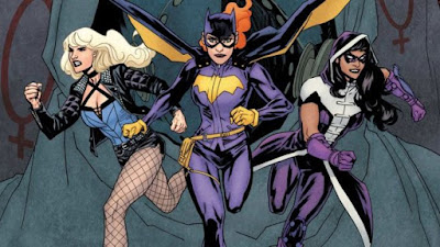 Trinity, Birds Of Prey, DC, Bat Woman, Bat Girl, Cassandra Cain, Black Canary