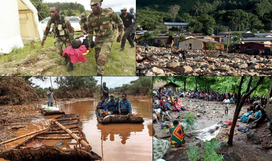 Terribile Ciclone Idai, è una strage: oltre 760 morti in Zimbabwe Mozambico e Malawi.