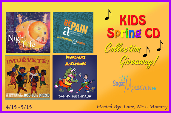 Kids Spring CD Collection Giveaway