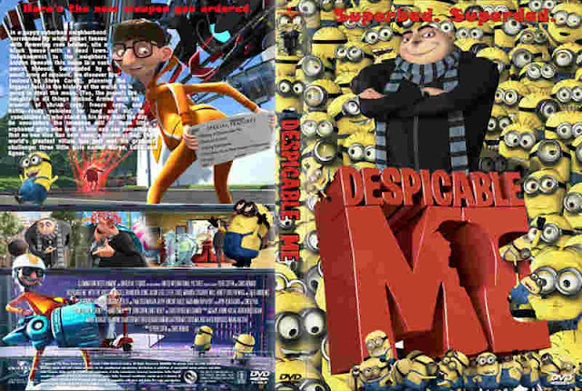 Despicable Me 2010 DVD Cover front and back