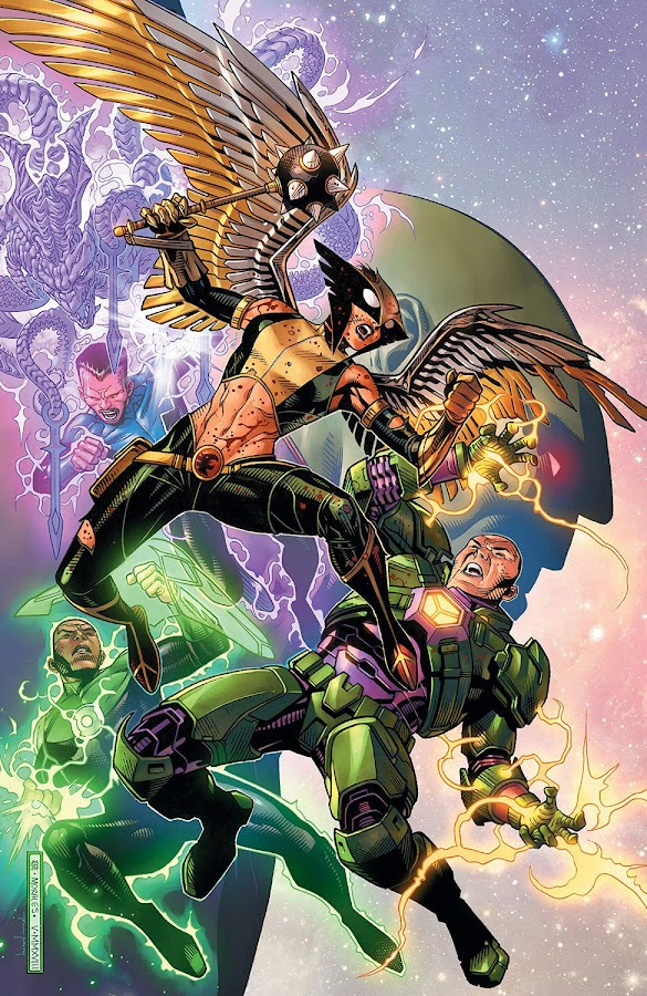 justice league the totality dc comics hawkgirl vs lex luthor