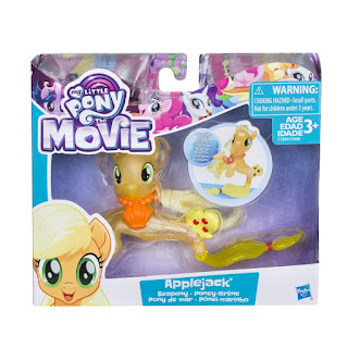 My Little Pony The Movie Applejack Seapony Brushable