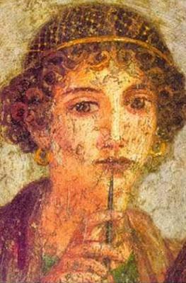 Retrato de Safo Mitilene