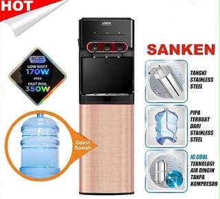 Dispenser Sanken HWD 535IC 3 Kran (Panas Dingin Normal)