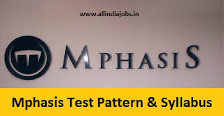 Mphasis Test Pattern