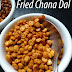 Fried Chana Dal Snack Recipe -- How to make Chana Dal Masala