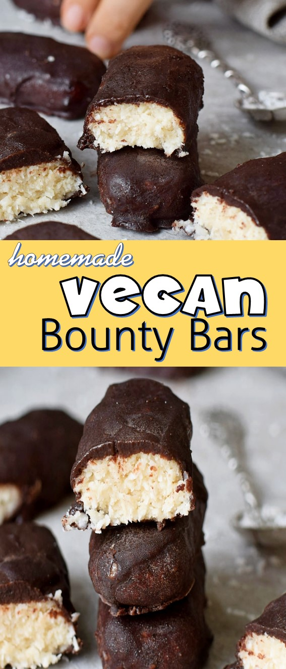 Homemade Vegan Bounty Bars Recipe