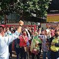Ratusan Buruh PT Golden Flower Ungaran Gelar Aksi Demo Tuntut Kejelasan Upah  dan THR