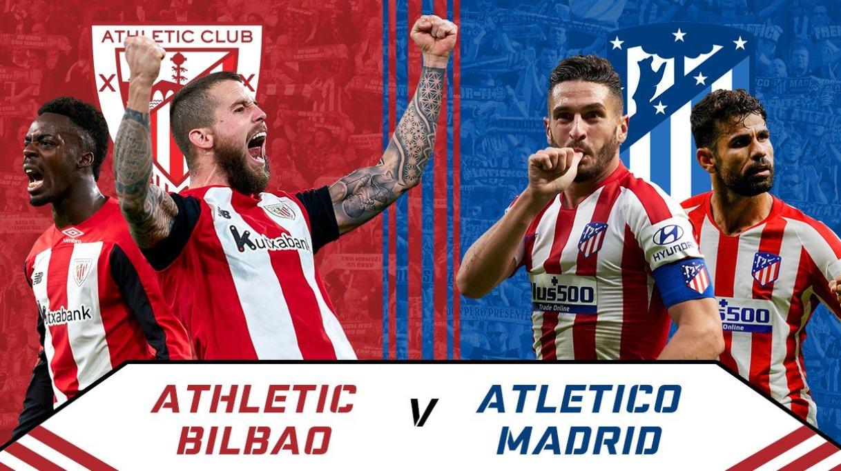 مشاهدة مباراة أتلتيكو مدريد وأتلتيك بلباو
