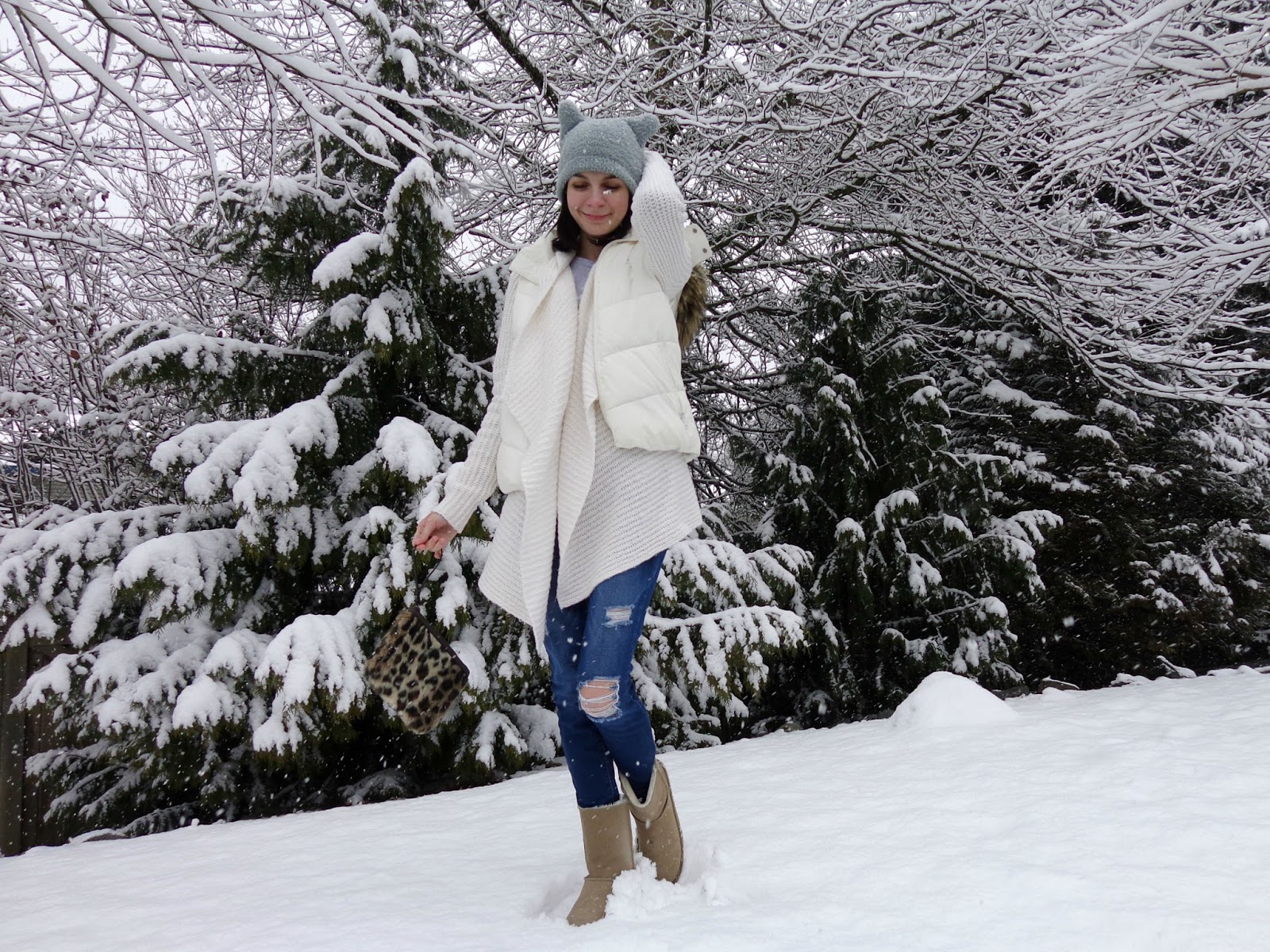 Winter in March Outfit 1